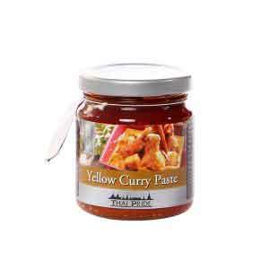 Gelbe Curry-Paste THAI PRIDE-0