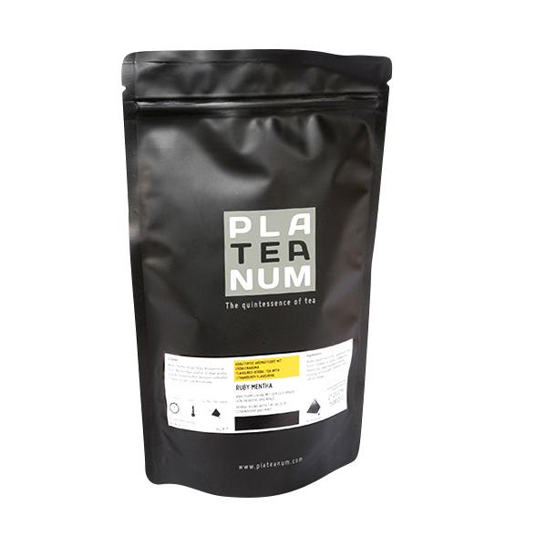 RUBY MENTHA, TEA TRAEDER - PLATEANUM