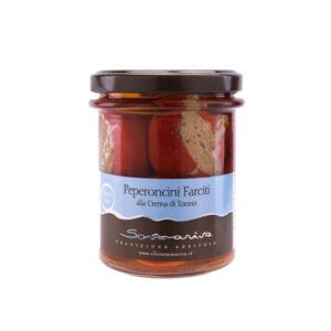 Gefüllte Peperoni mit Thunfischcreme-0